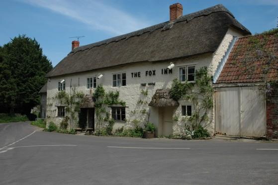 The Fox Inn at Corscombe, Dorset.