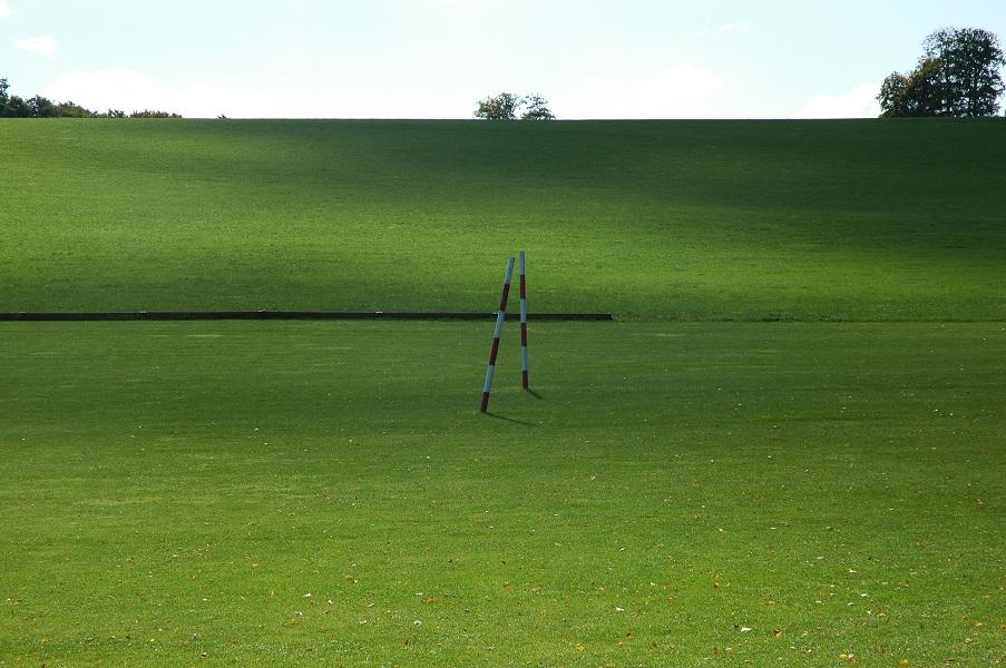 The Polo Feld on Sydmonton Court Estate.