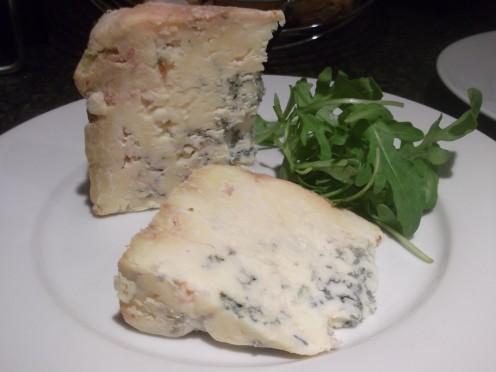 Dorset Blue Vinney Cheese.....a Birthday surprise!