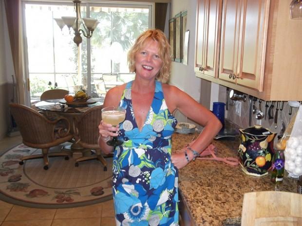 Happy Birthday Jenny kirwan.....me in Florida sipping one of Steve's gorgeous margaritas