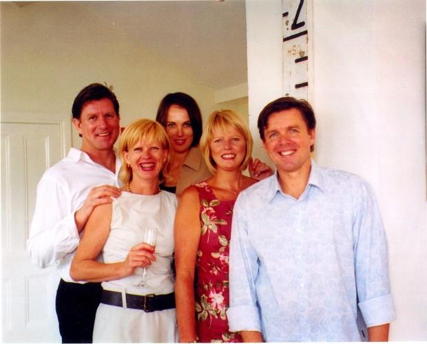 Gary Kirwan, Jane Knuckey, Fiona Kirwan, Jenny Kirwan (me) and Peter Kirwan